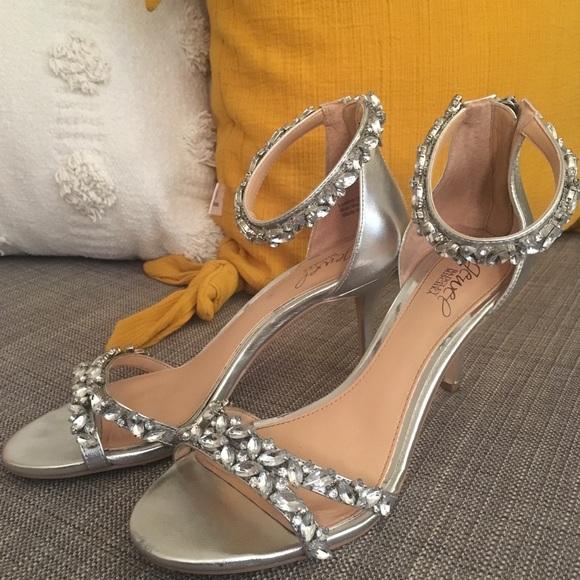 fa3f15961e917 Badgley Mischka Shoes - Jewel Badgley Mischka Caroline rhinestone heels